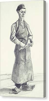 The Boy Smith Canvas Print by Vincent Van Gogh