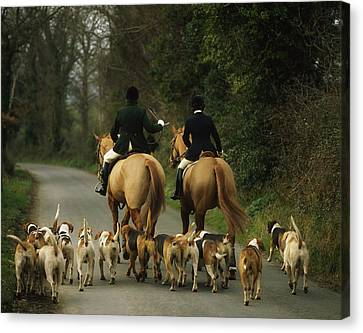 The Bray Harriers, Co Wicklow, Ireland Canvas Print