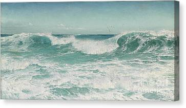 The Breaking Wave Canvas Print by Celestial Images