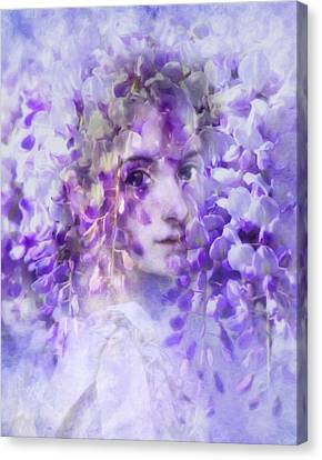 The Bridal Doll Canvas Print by Georgiana Romanovna