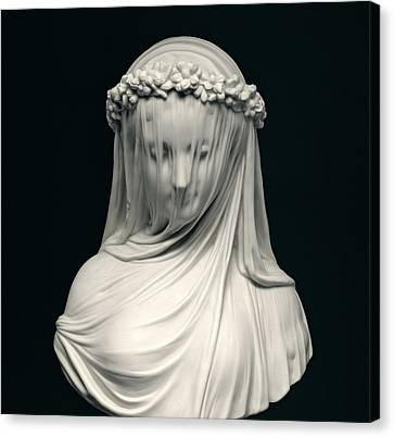 Sculpted Canvas Print - The Bride by English School