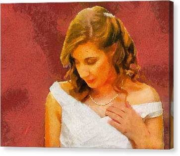 The Bride To Be Canvas Print by Jeff Kolker
