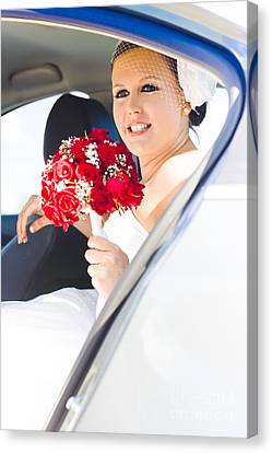 The Brides Arrival Canvas Print by Jorgo Photography - Wall Art Gallery