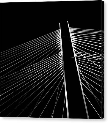 Canvas Print featuring the photograph The Bridge by Chris Feichtner