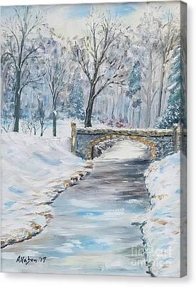 Canvas Print - The Bridge by Stanton Allaben