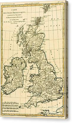 The British Isles Canvas Print by Guillaume Raynal