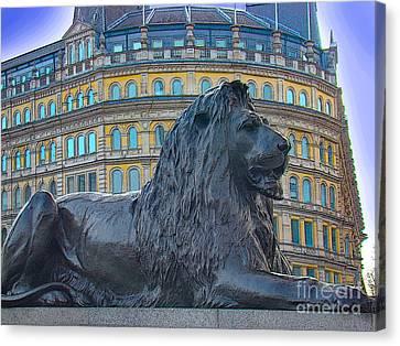 The British Lion Canvas Print