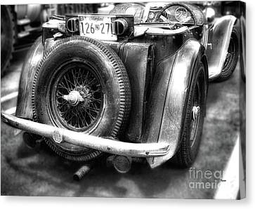 The British Mg  Canvas Print by Steven Digman