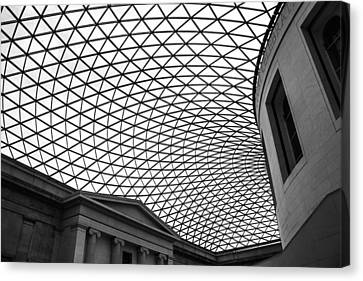The British Museum Canvas Print by Martin Newman