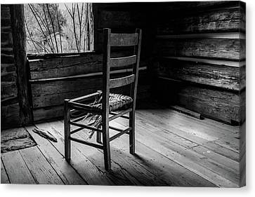 The Broken Chair Canvas Print