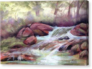 The Brook Canvas Print by Patricia Seitz