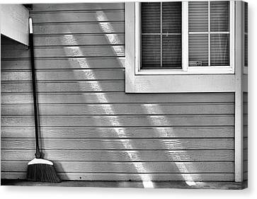 The Broom And Sunbeams Canvas Print