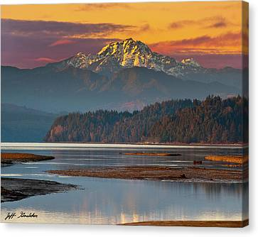 The Brothers From Hood Canal Canvas Print