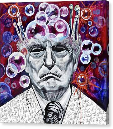 The Bubble King Canvas Print