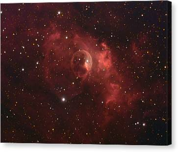 The Bubble Nebula Canvas Print