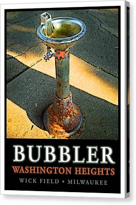 The Bubbler Canvas Print