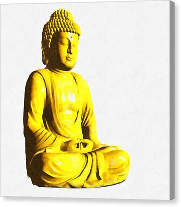 The Buddha By Pierre Blanchard Canvas Print