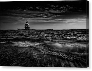 The Bug Light, Greenport Ny Canvas Print by Rick Berk
