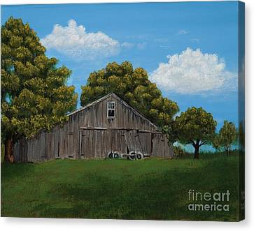 The Buggy Shed Canvas Print