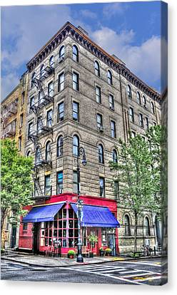 The Building Used For The Tv Show 'friends' Canvas Print by Randy Aveille