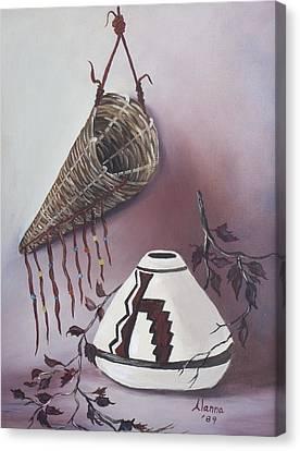 The Burden Basket Canvas Print by Alanna Hug-McAnnally