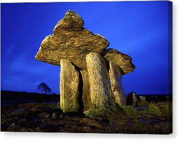 Co. Clare Canvas Print - The Burren, County Clare, Ireland by Richard Cummins