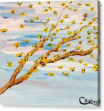 The Butterfly Tree Canvas Print