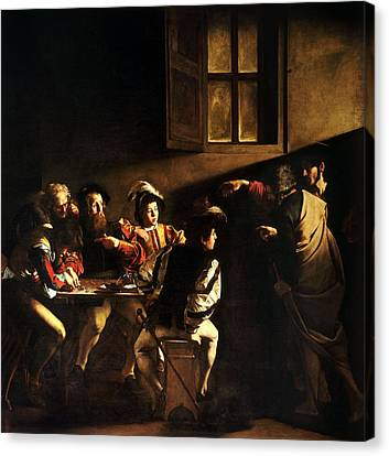 Gospel Of Matthew Canvas Print - The Calling Of St Matthew by HQ Art