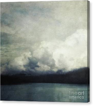 Melancholy Canvas Print - The Calm Before The Storm by Priska Wettstein