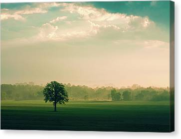 The Calm Before Canvas Print by Todd Klassy