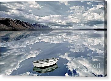 The Calm Canvas Print by Jacky Gerritsen