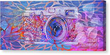 The Camera - 02c3t Canvas Print by Variance Collections