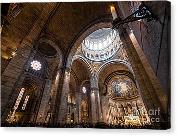 The Candle Canvas Print by Giuseppe Torre