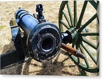 The Cannon Of Elkton Canvas Print by Daniel LaFollette