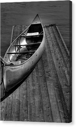 The Canoe Canvas Print by David Patterson