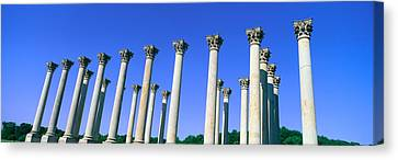 The Capitol Columns Of The United Canvas Print