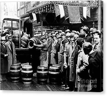 Celebrate Canvas Print - The Captured Beer by Jon Neidert