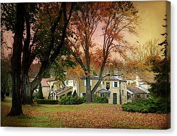 The Caramoor Estate Canvas Print by Diana Angstadt