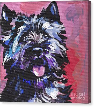The Caring Cairn Canvas Print by Lea S