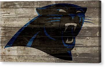 The Carolina Panthers 2w Canvas Print by Brian Reaves