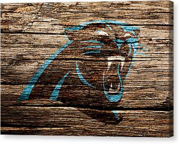 Tebow Canvas Print - The Carolina Panthers 4c by Brian Reaves