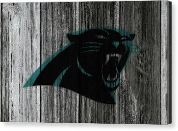 Tebow Canvas Print - The Carolina Panthers C1 by Brian Reaves
