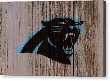 Tebow Canvas Print - The Carolina Panthers C2 by Brian Reaves