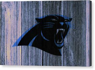 Tebow Canvas Print - The Carolina Panthers C4 by Brian Reaves