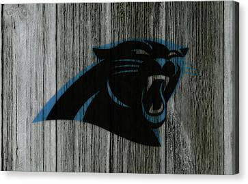 Tebow Canvas Print - The Carolina Panthers C5 by Brian Reaves