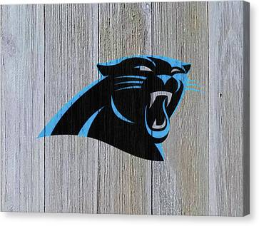 Tebow Canvas Print - The Carolina Panthers C8 by Brian Reaves