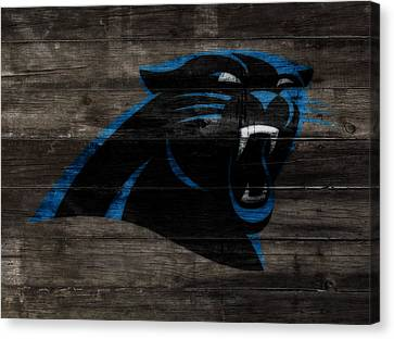 Tebow Canvas Print - The Carolina Panthers W10	 by Brian Reaves