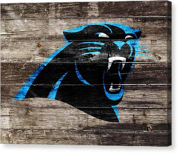Tebow Canvas Print - The Carolina Panthers W6 by Brian Reaves