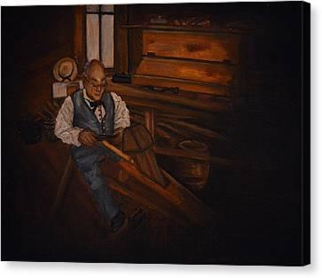 The Carpenter Canvas Print by Regina Brandt