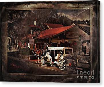 The Carriage Canvas Print by Bob Pardue